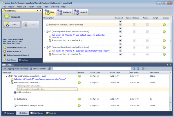 Click to view Hyper Build screenshots